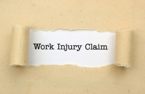 Graphic for Work injury claim